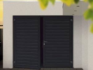 funcionamiento puerta de garaje batiente